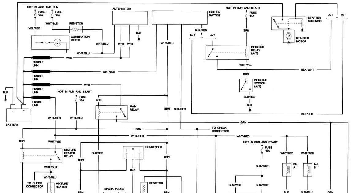 Nissan Truck Wiring Diagram