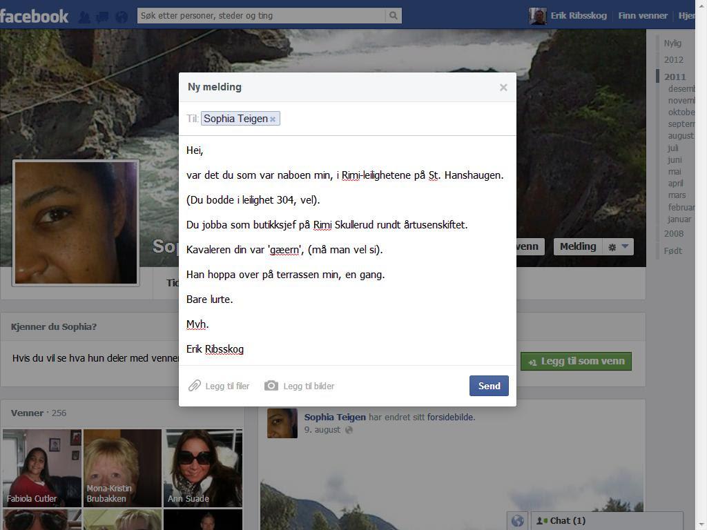 facebook sophia teigen