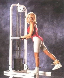 Maxicam High Low Pulley Weight Machine Home Fitness And