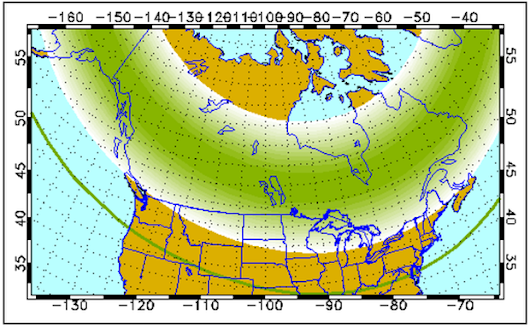 Northern lights could explode over all of Michigan tonight