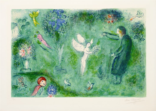 How Marc Chagall Came to Illustrate One of the Greatest Love Stories of All Time