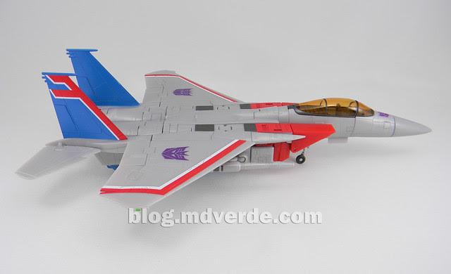 Transformers Starscream Masterpiece MP-11 - modo alterno