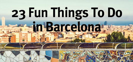 23 Fun Things to do in Barcelona - Pillow fights, Surfing, Cinema