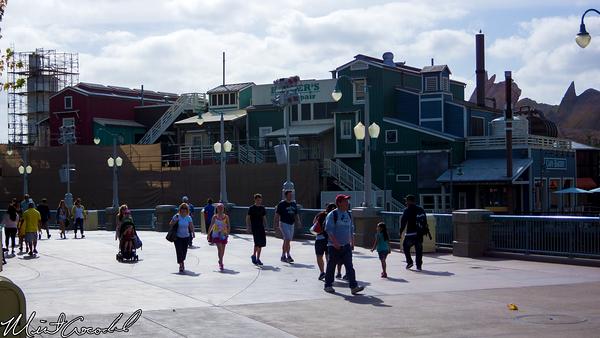 Disneyland Resort, Disney California Adventure, Pacific Wharf, Refurbishment, Refurb