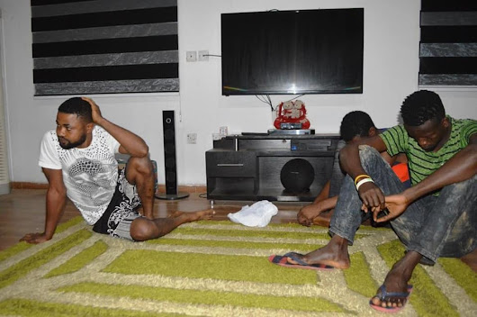 Some 'yahoo boys' have been nabbed in a | jhamees9ja blog