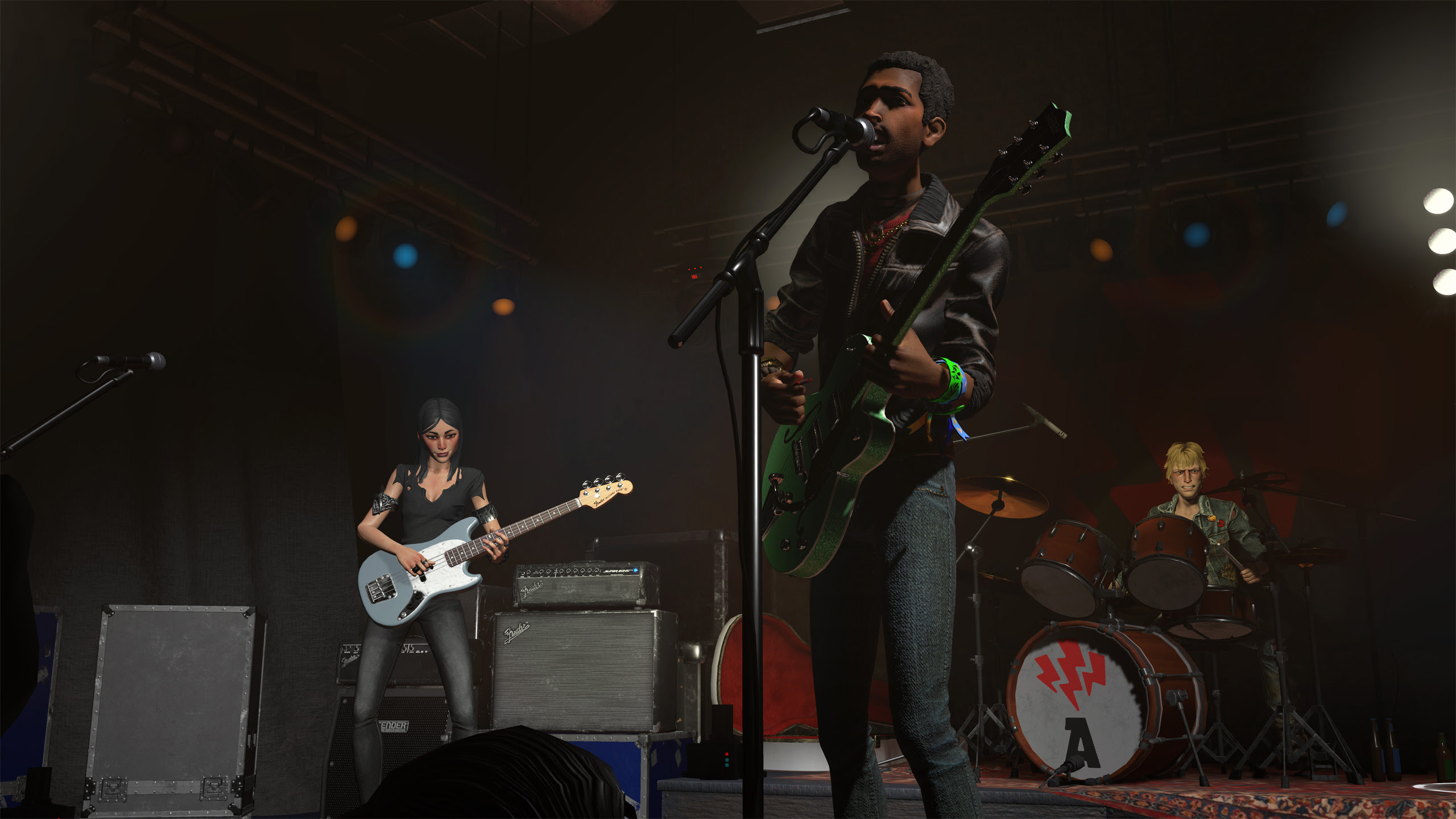 Review: Rock Band VR screenshot