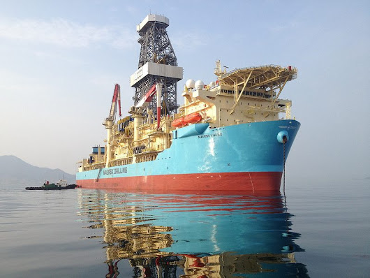 ExxonMobil Extends Contract for Maersk Drillship at a Fraction of the Original Rate – gCaptain
