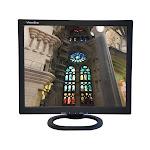 "ViewEra V172SV2 Black 17"" LCD/LED Video Monitor, 250cd/m2, 1000:1, Composite Video, S-Video, D-Sub"