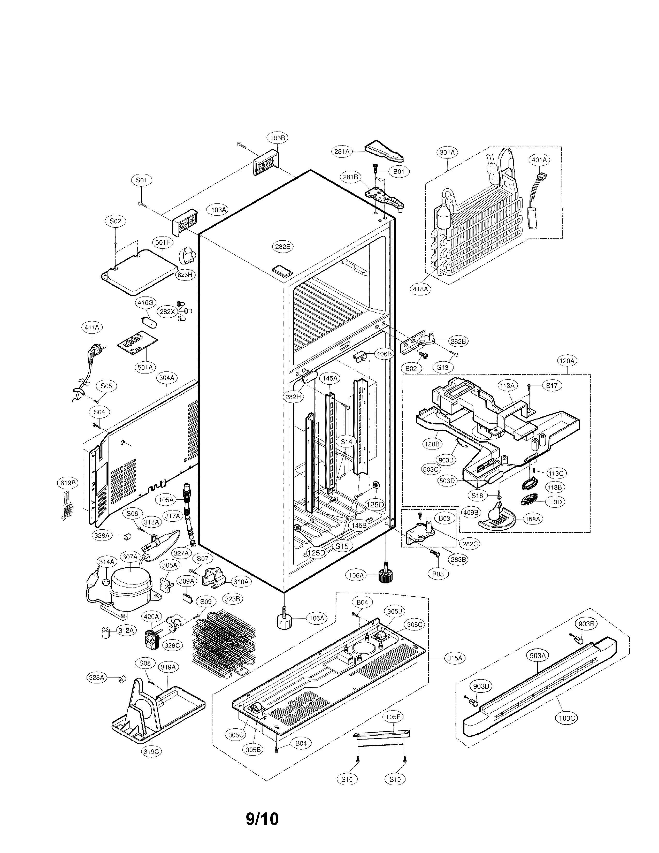 Wiring Diagram  31 Lg Ice Maker Parts Diagram