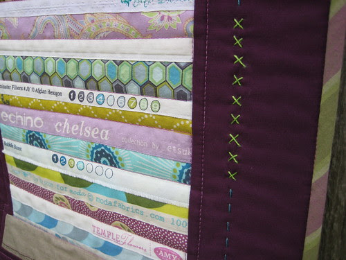 Variegated Selvage Spool by Poppyprint