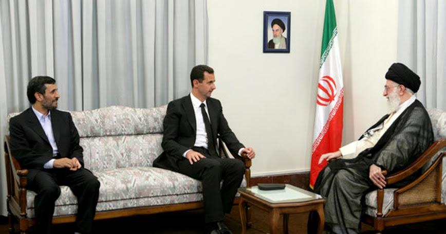 Bashar al-Assad meeting with Iran's Supreme Leader Ayatollah Ali Khamenei in Tehran August 19, 2009