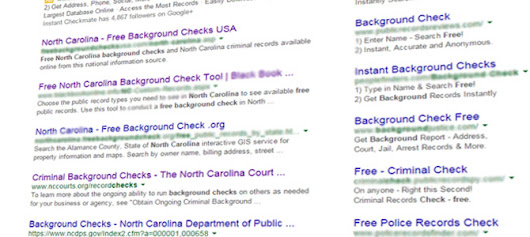 Free North Carolina Background Checks Don't Exist - abcNC.com