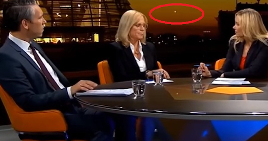 German Television Station Program Shows a Mysterious UFO • Latest UFO sightings