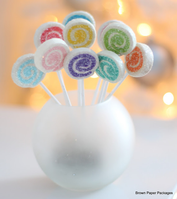 lollipop ornaments