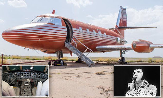 Elvis' jet being auctioned after sitting for 30 years in Roswell