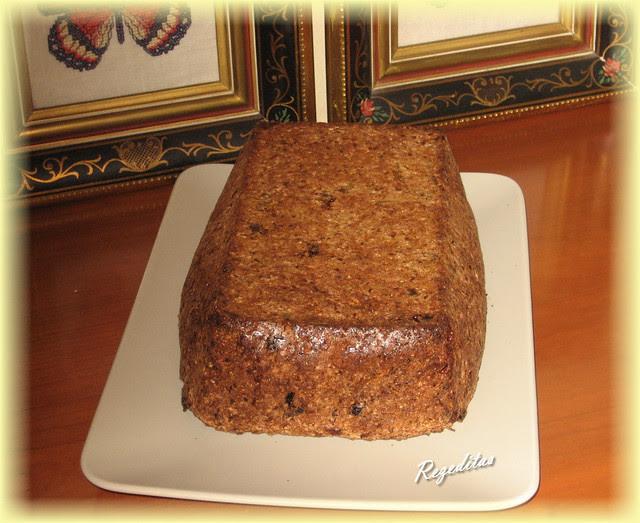 CAKE DE FRUTAS DESECADAS