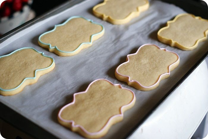 rosie cookies tutorial ::: bake at 350 blog