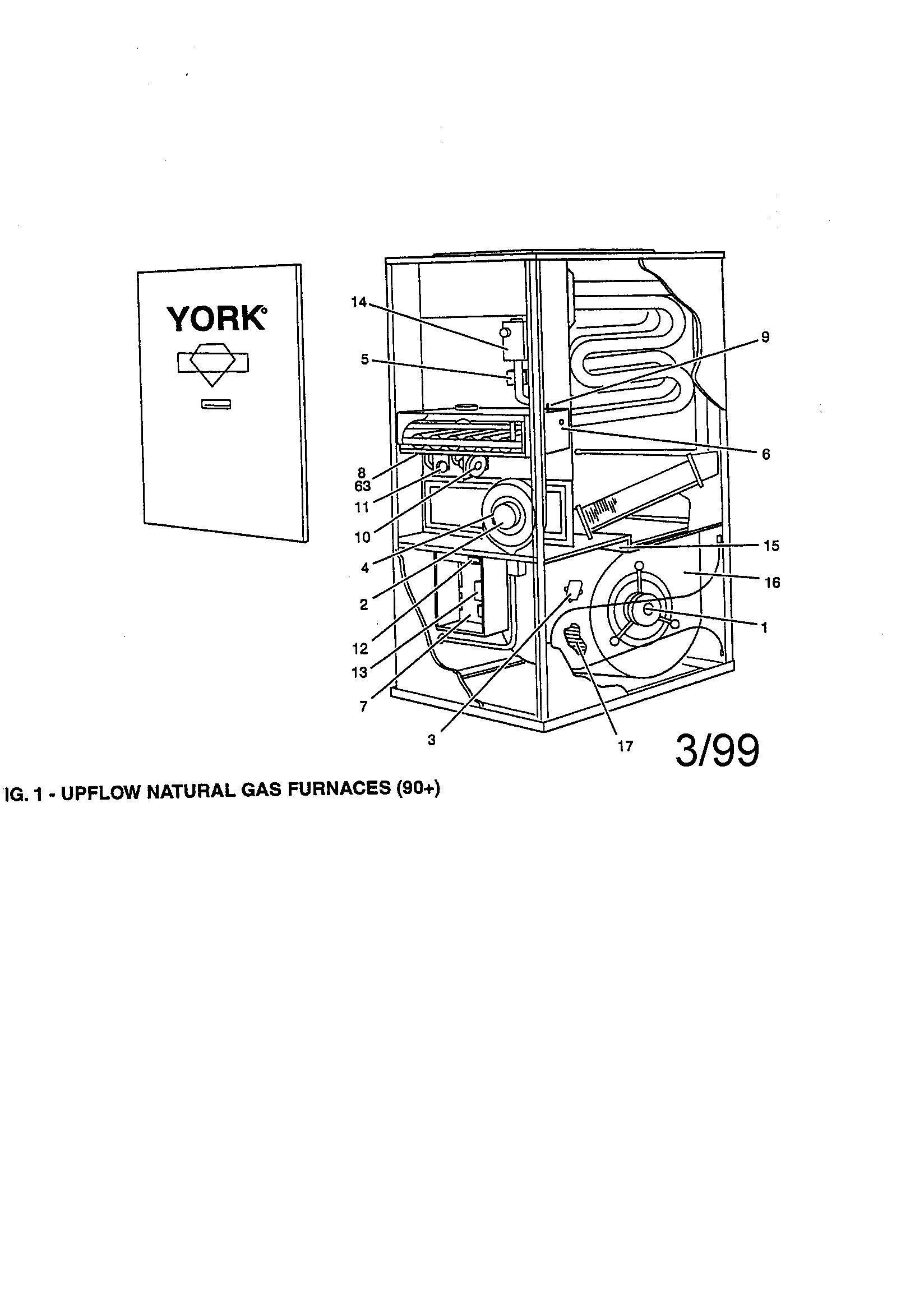 Wiring Diagram: 34 Gas Furnace Parts Diagram