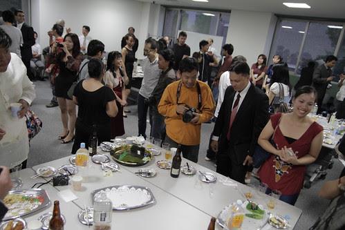 Post ceremony reception