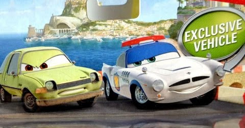 Cars 2 Security Guard Finn McMissile with Acer diecast Disney Pixar Mattel exclusive officer