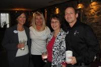 Claissa Louw,  Carol Landis Pierce, Victor A Cimerol present at Morgan's Event