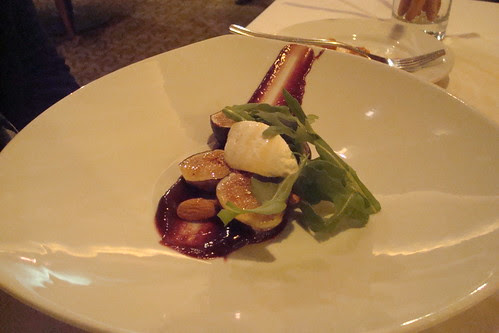 Ricotta with Figs, Honey, and Almonds ($12)