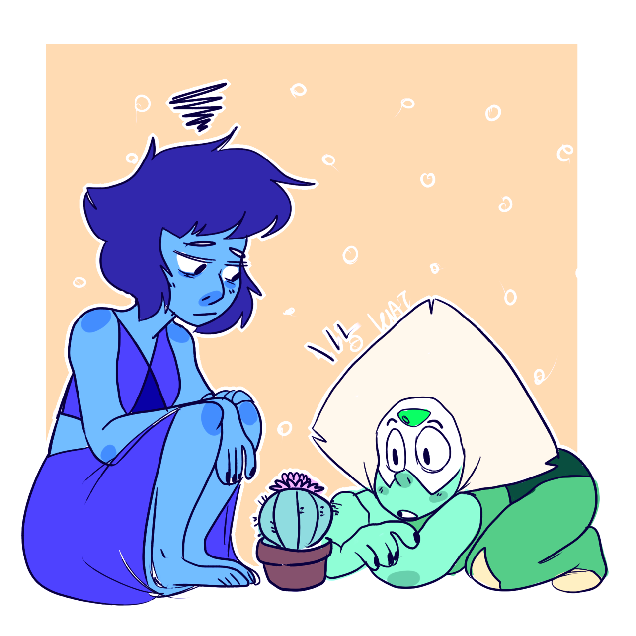 if lapis and peri had a baby it would be a cactus