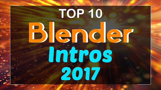 Top 10 Blender Intro Templates 2017 - Free Download | topfreeintro.com