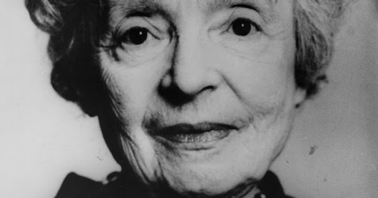 Meet Nelly Sachs, the Nobel Prize-winning poet & playwright celebrated by Google