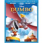 Disney Dumbo: 70th Anniversary Edition, 2-Disc Set [Blu-Ray/DVD]