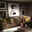 Celebrity prints on Pinterest | Wall Decorations, Roger Moore and Luxury Apartments