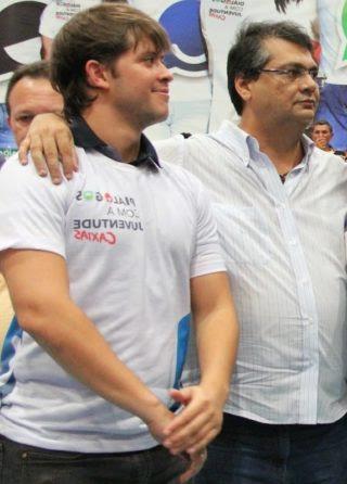 Léo Coutinho e Flávio Dino