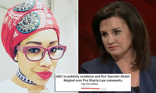 Petition demands ABC sack Yassmin Abdel-Magied for Sharia remarks