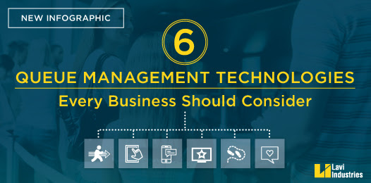 6 Queue Management Technologies You Should Consider [Infographic]