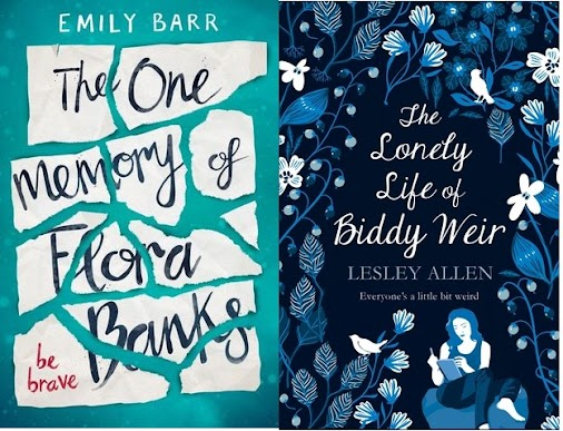 #BookTwins If You Liked... The One Memory Of Flora Banks, The You Might Like... The Lonely Life Of Biddy...