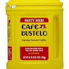 Cafe Bustelo Dark Roast Ground Coffee, Espresso - 36 oz tub