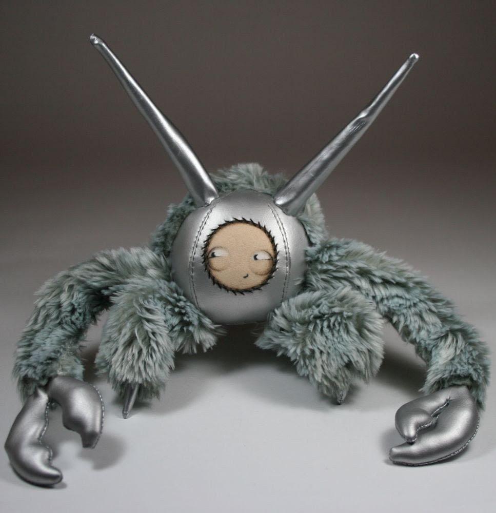 silver yeti crab