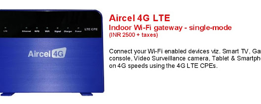 Comparison of 4G LTE plans of Aircel with Airtel