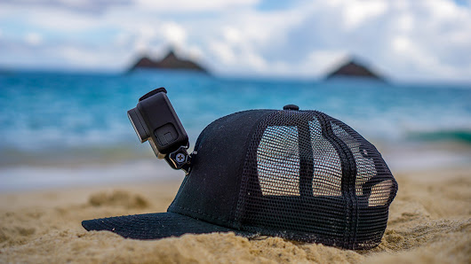 ActionHat: Floating Hat Mount for GoPro & Action Cameras