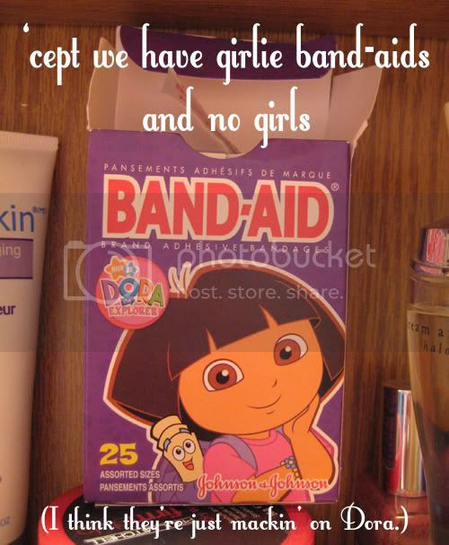Dora's the Hispanic Oprah. Beehotch is on everything!