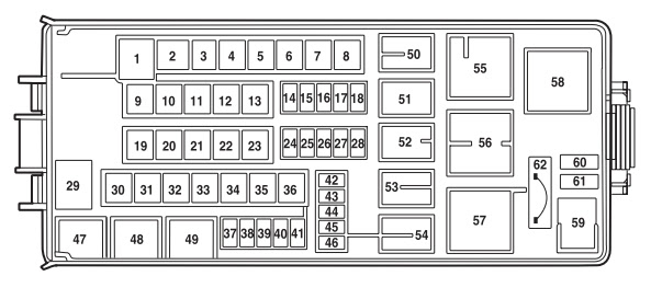 Fuse Box For Lincoln Navigator 2003 - Wiring Diagram