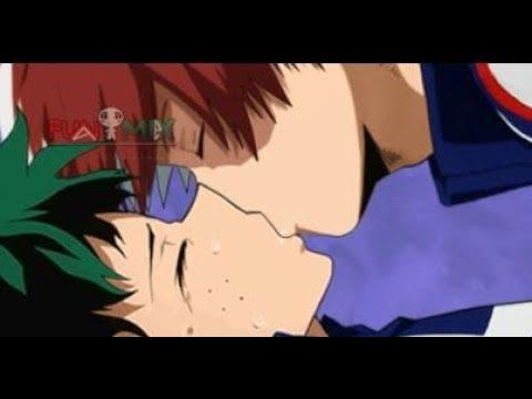 Tododeku Kiss Behind The Scenes Bts Todoroki Shouto X Midoriya Izuku Boku No Homo Academia