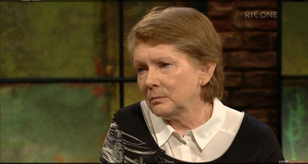Catherine Corless said it is wonderful the truth has come out. Image: Screengrab Late Late Show on RTÉ