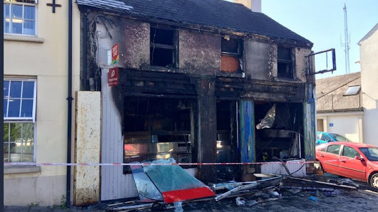 Banbridge building 'gutted' in second arson attack - BBC News