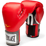 Everlast Pro Style Training Gloves, Red - 14 oz