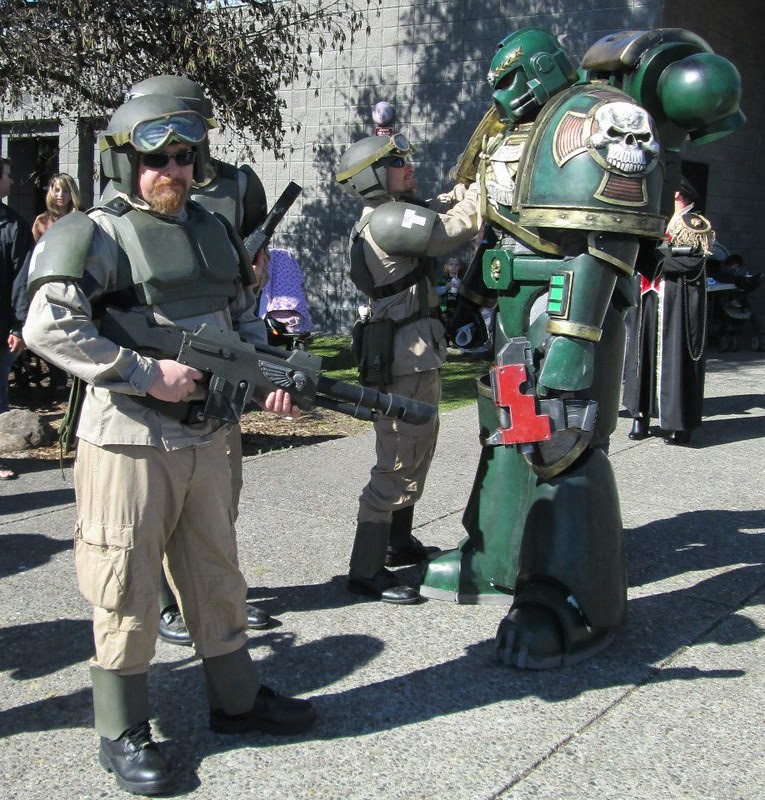 IG with Space Marine 3