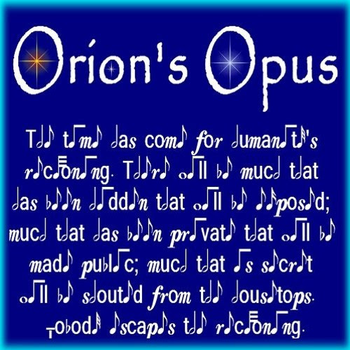 Orion's Opus by w1z11