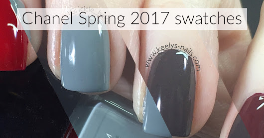 Chanel Spring 2017 swatches Emblematique Washed Denim Androgyne - Keely's Nails