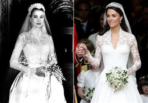Kate Middleton Wedding Dress inspired by Princess Grace