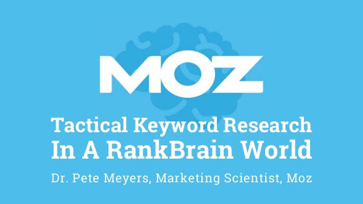 Tactical Keyword Research in A RankBrain World